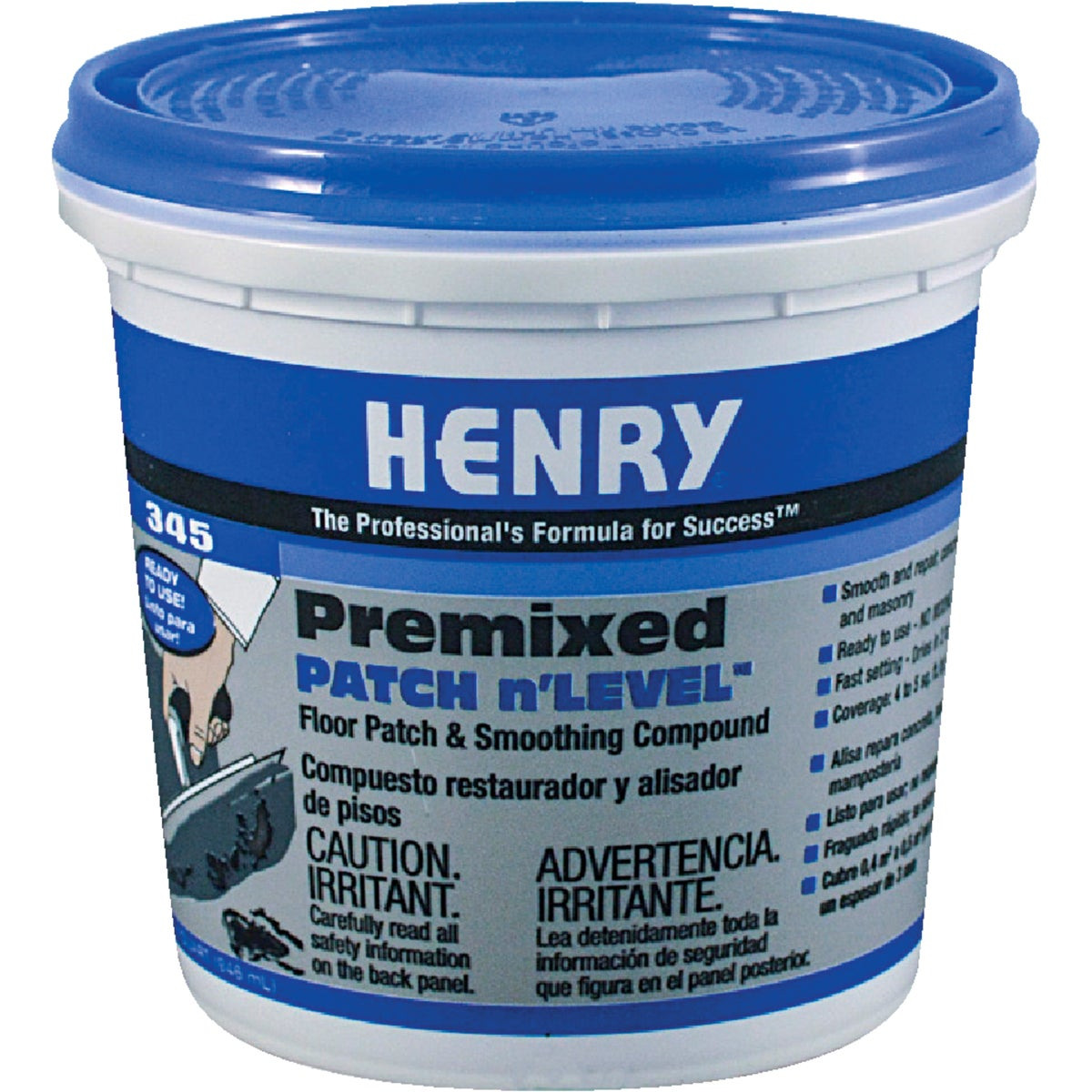 QT PREMIXED FLOOR PATCH - 12063 by Henry W W Company