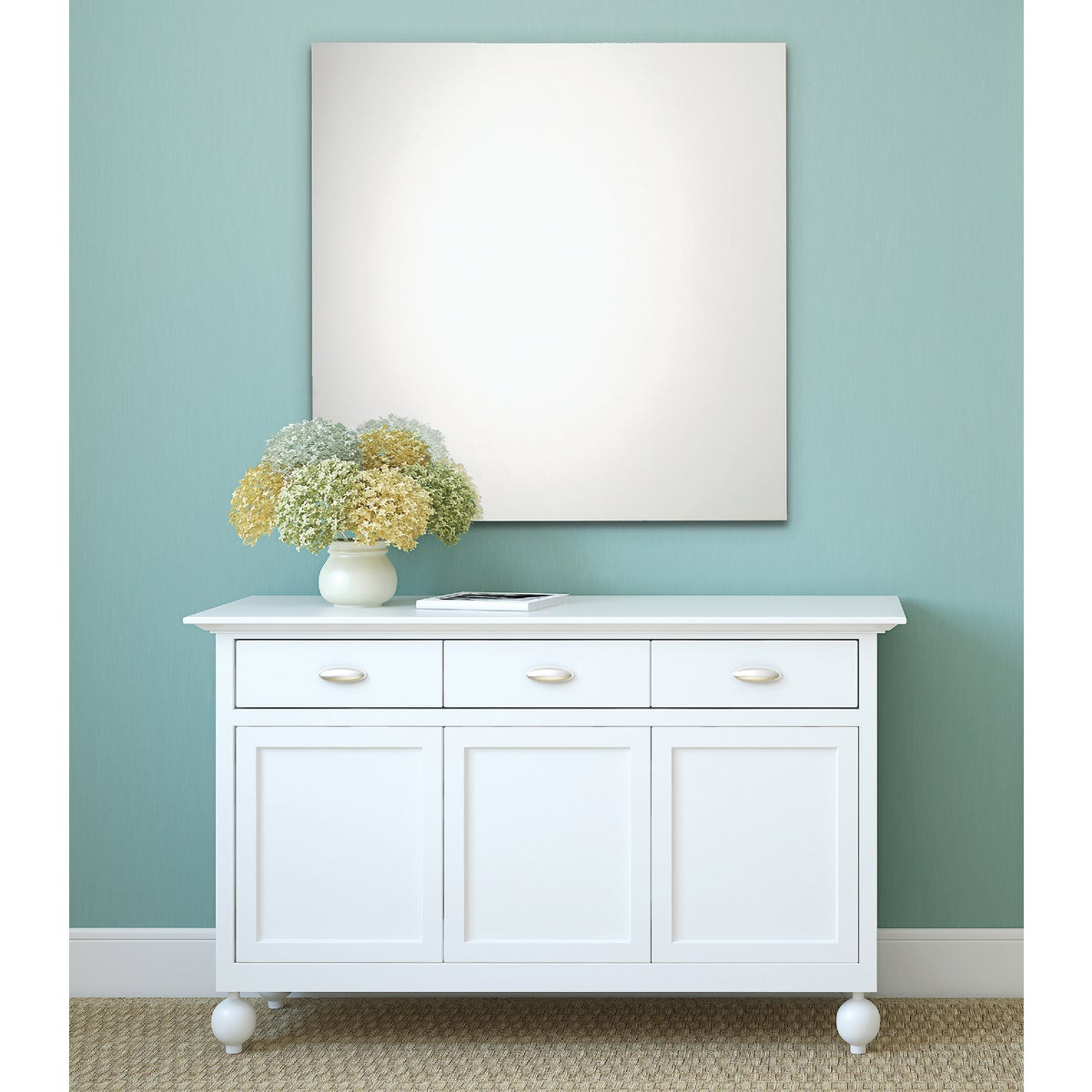 36X36 FMLS POL ED MIRROR - 20-1324 by Home Decor Innovatns