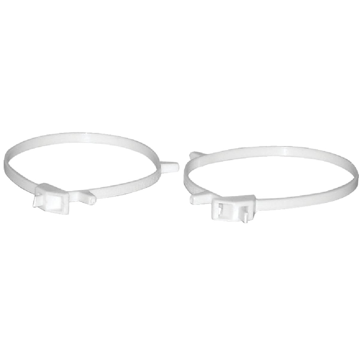 "2PK 3-4"" PLASTIC CLAMP"