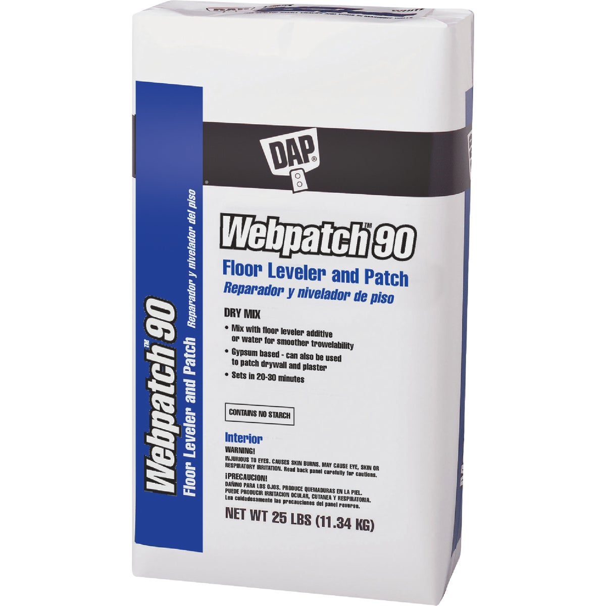 25LB WEB PATCH 90 - 63050 by Dap Inc