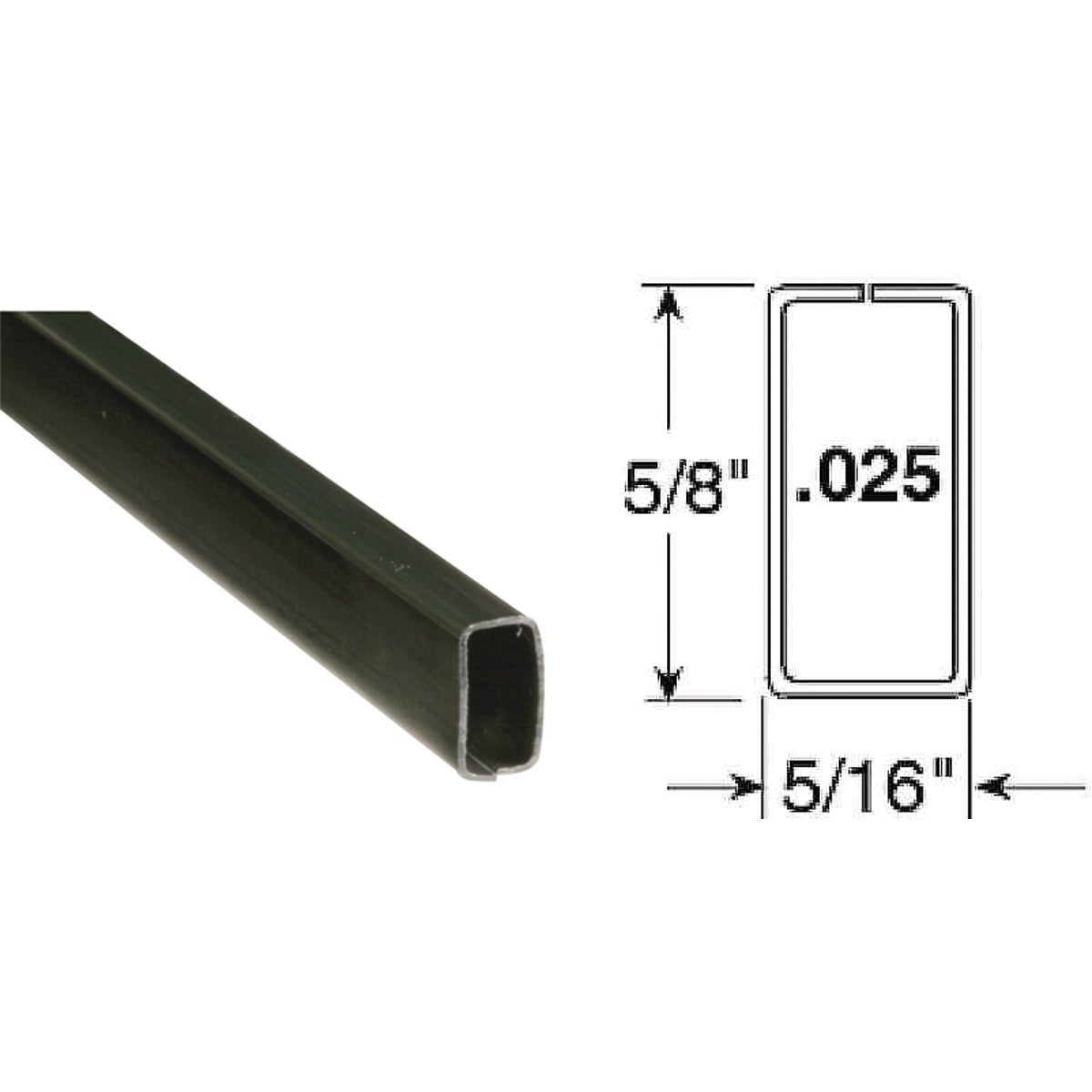 5/8X5/16Mill Spreadr Bar