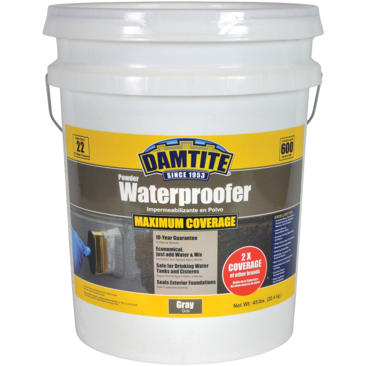 45LB G WTRPF FOUNDATION - 02451 by Damtite Waterproofng