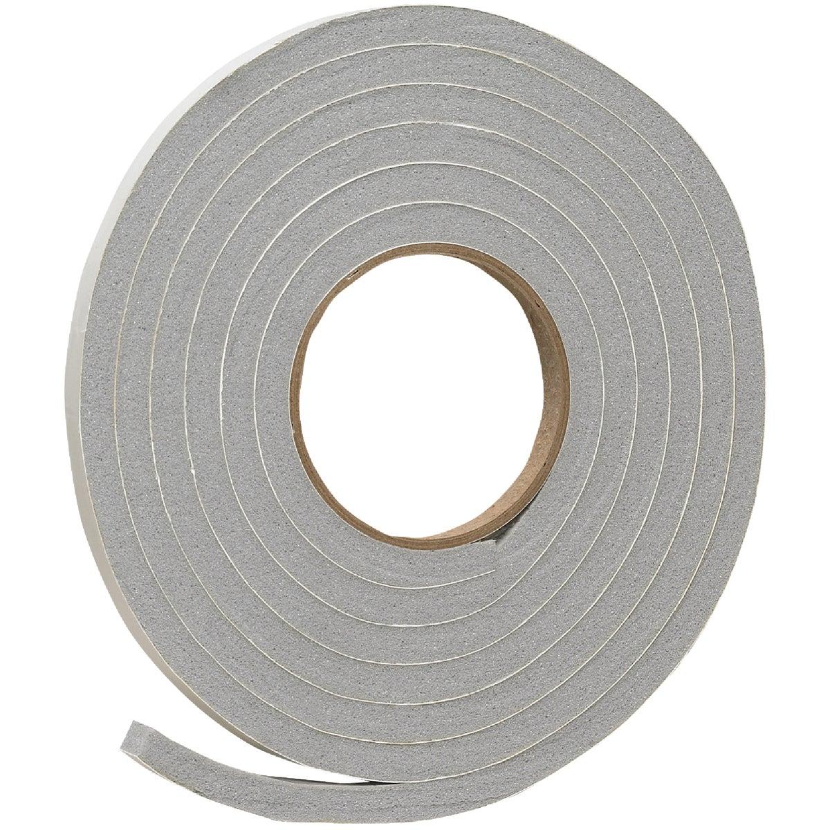 "Do it 1/2"" W x 3/8"" T x 10' L Gray Foam Weatherstrip Tape"