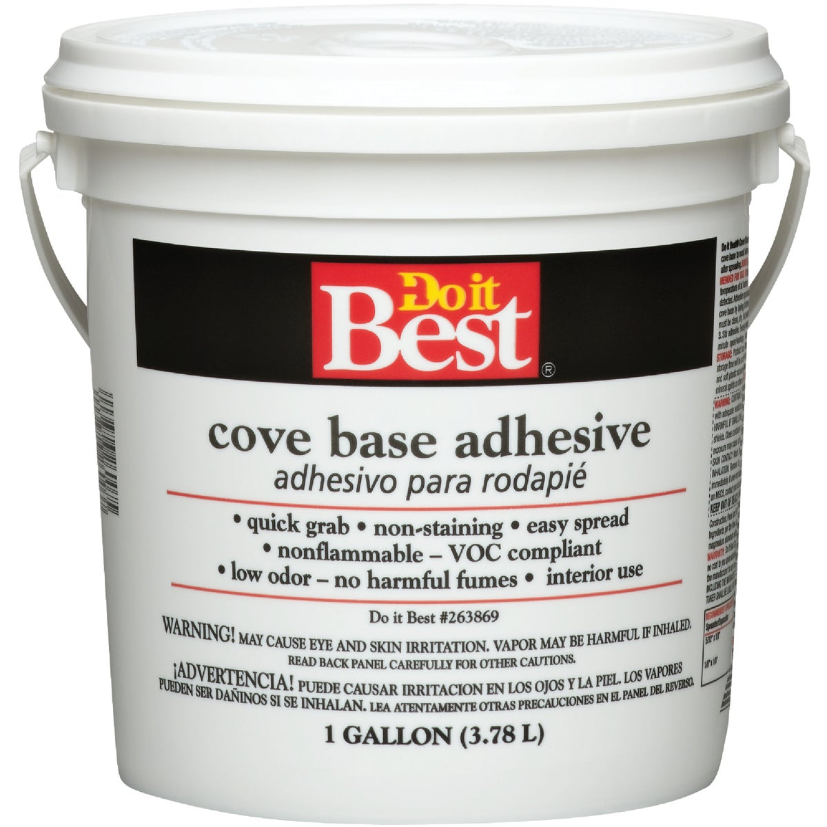 Do it Cove Base Adhesive, Gallon