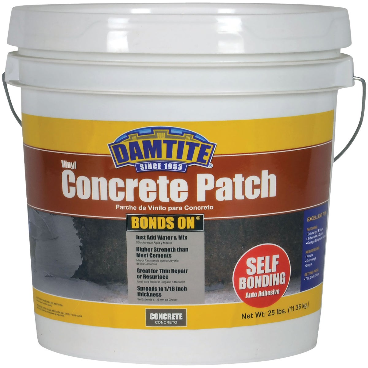 25LB THOROCRETE PATCH - T5021 by Prime Source Pneumat