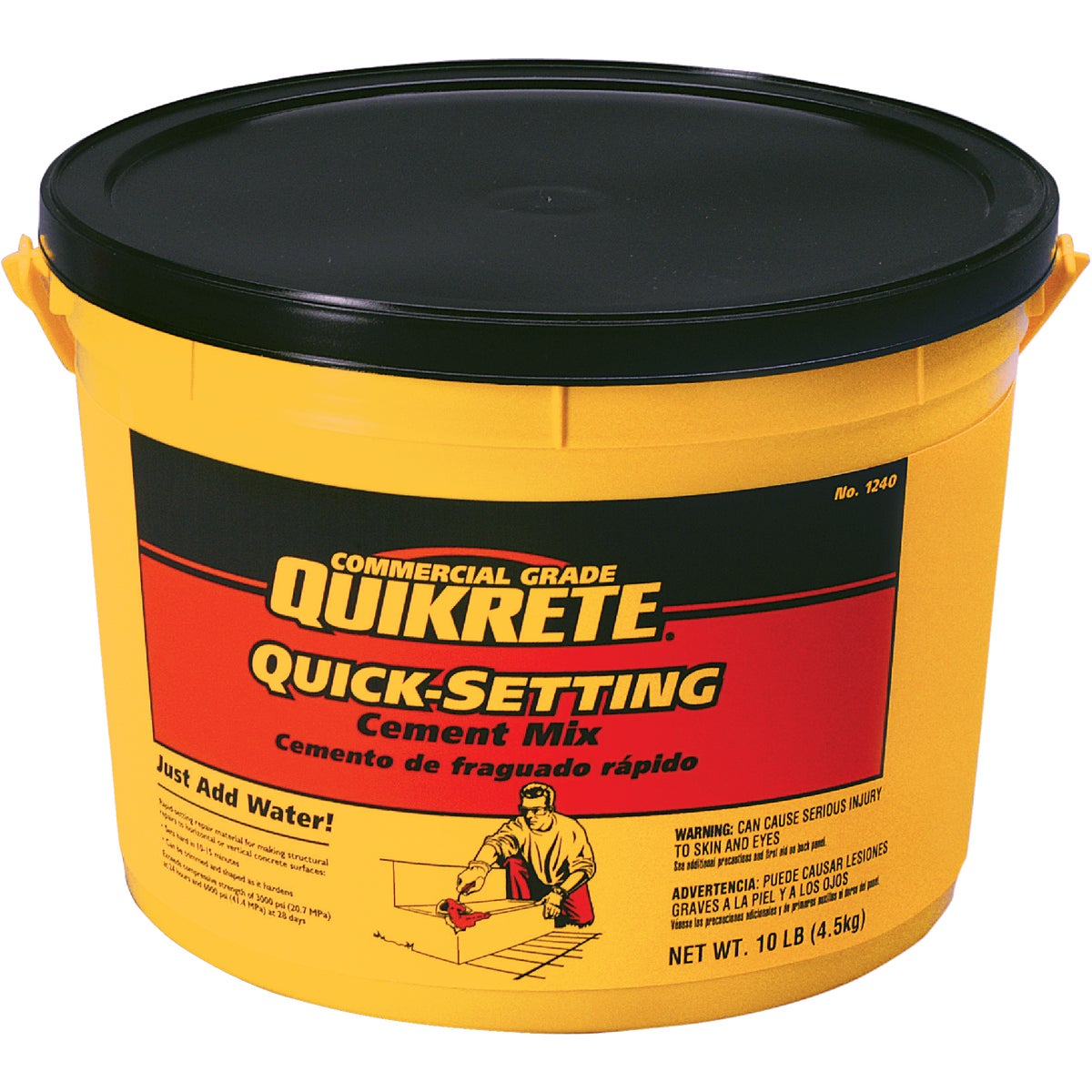 10LB QUICK-SET CEMENT - 1240-11 by Quikrete Co