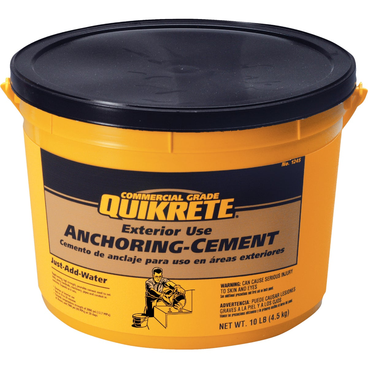10LB ANCHORING CEMENT - 1245-11 by Quikrete Co