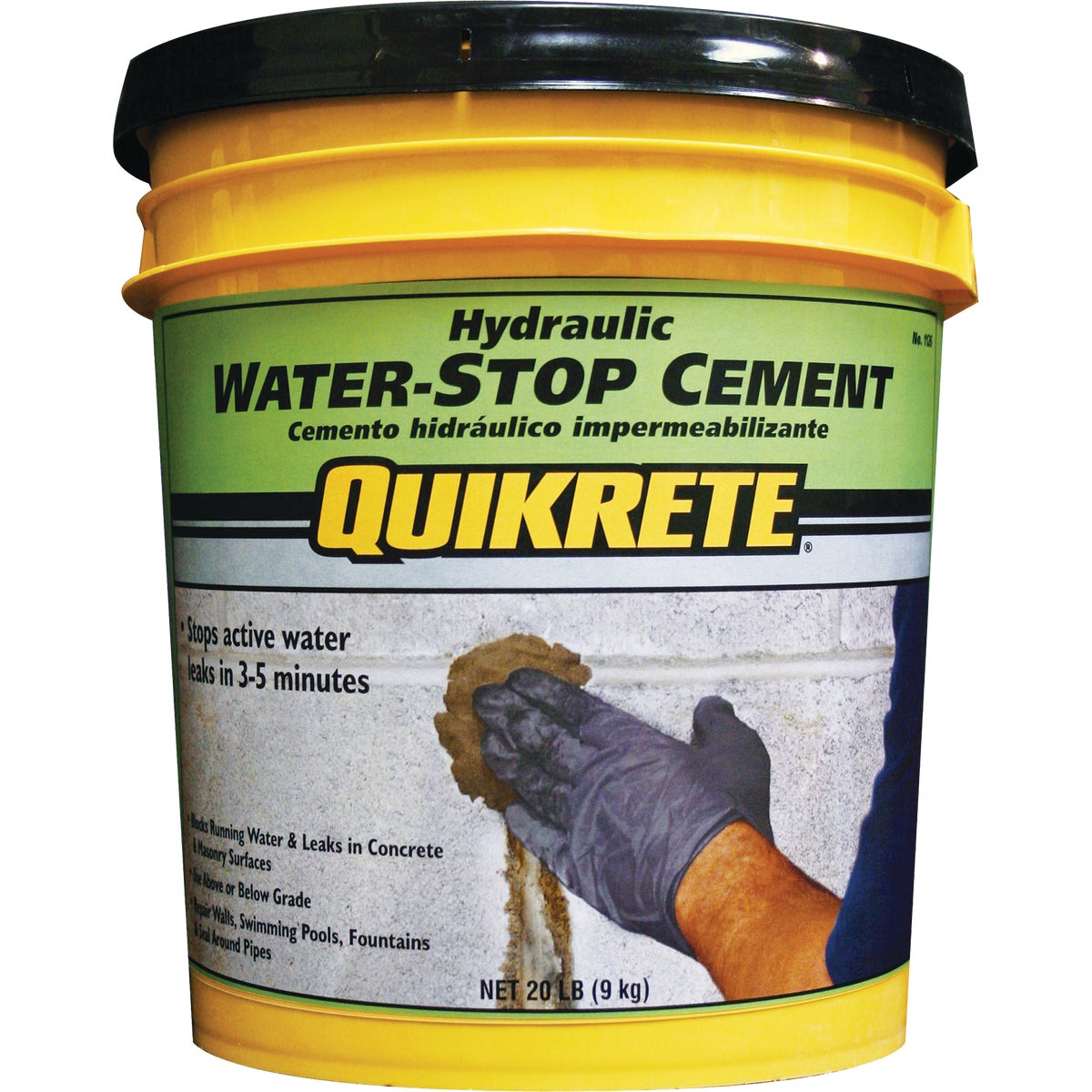 20LB HYDRL WTRSTP CEMENT - 1126-20 by Quikrete Co