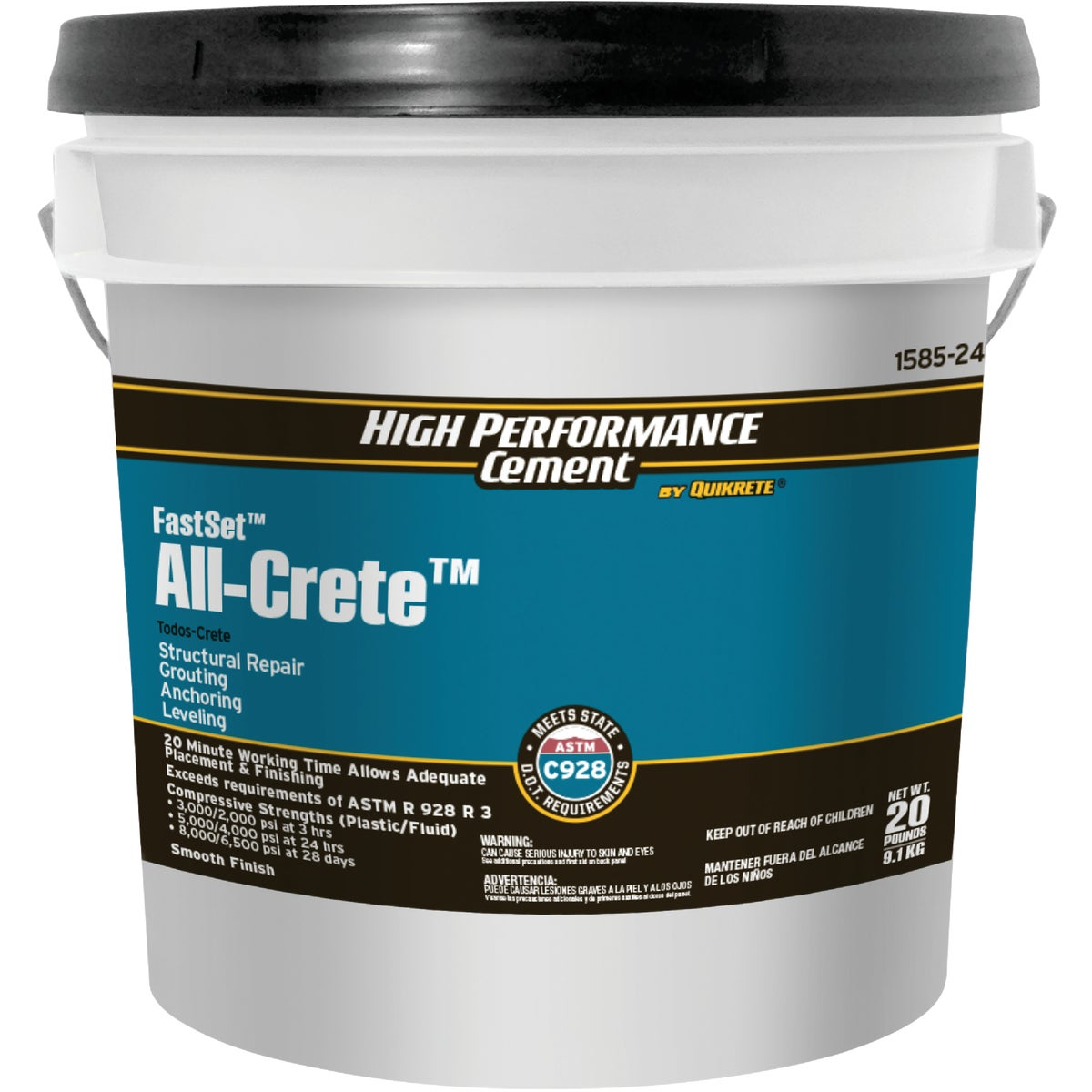 20LB FS NON-SHRINK GROUT - 1585-20 by Quikrete Co