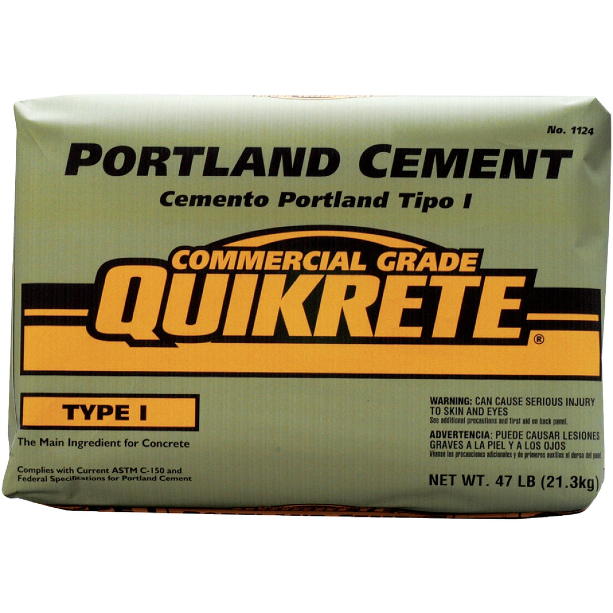 47LB PORTLAND CEMENT - 1124-47 by Quikrete Co