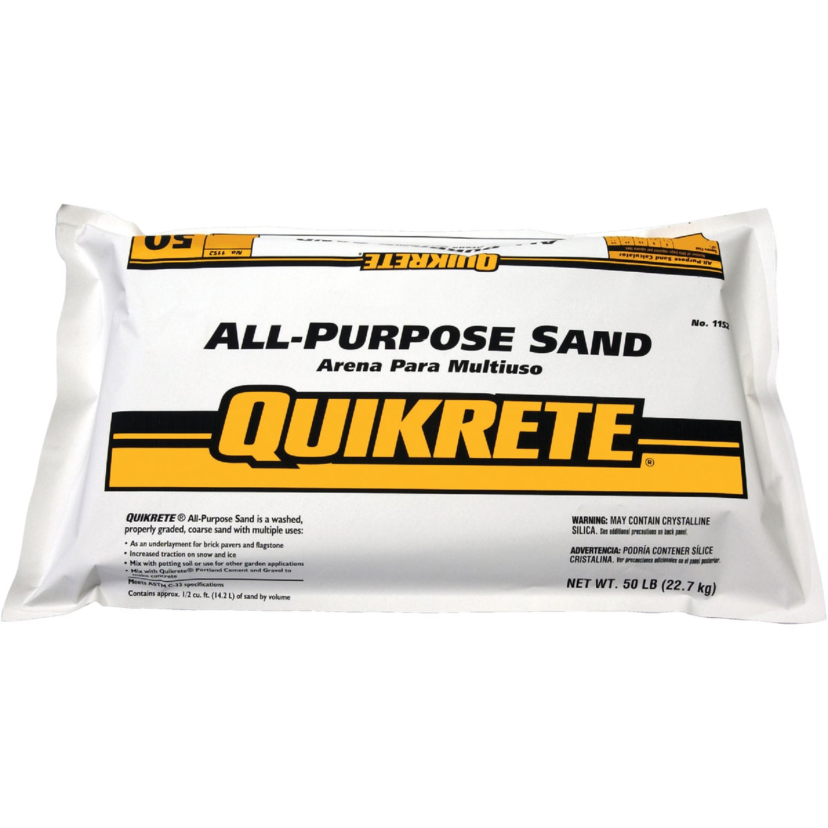 50LB ALL-PURPOSE SAND - 1152-53 by Quikrete Co