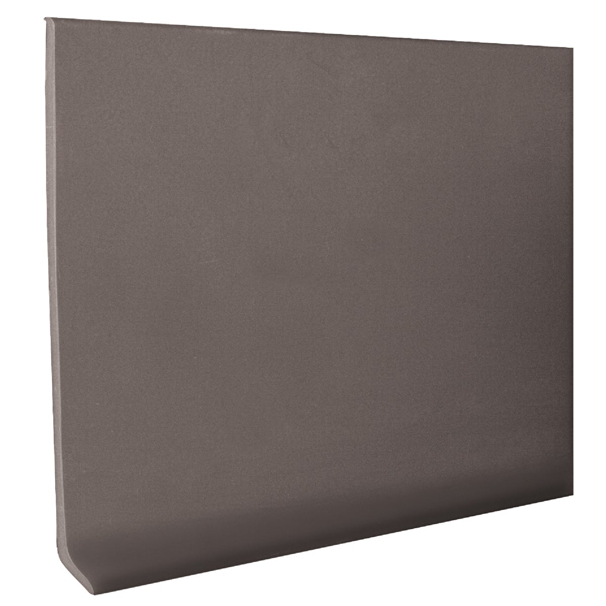 "2-1/2""X4'GRAY WALL BASE - H1625C53P150 by Roppe Corporation"
