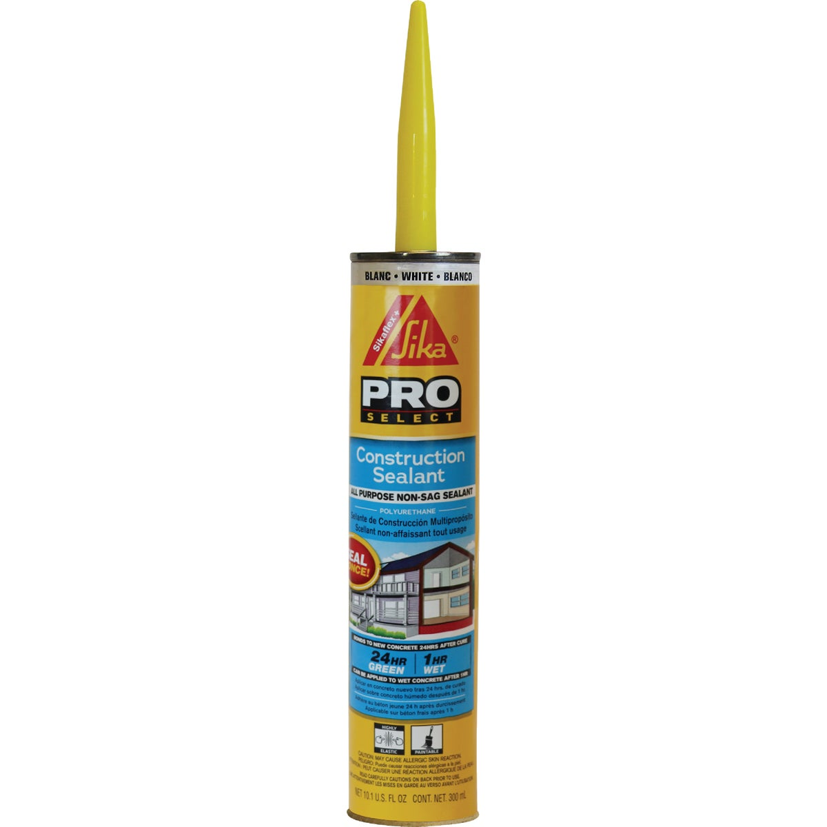 10 WH SKFLX CONS SEALANT - 90618 by Sika Corp