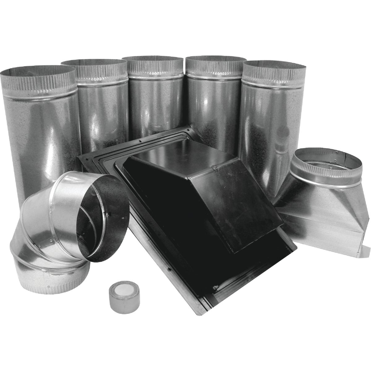 RANGE HOOD ROOF VENT KIT - 378 by Lambro Industries