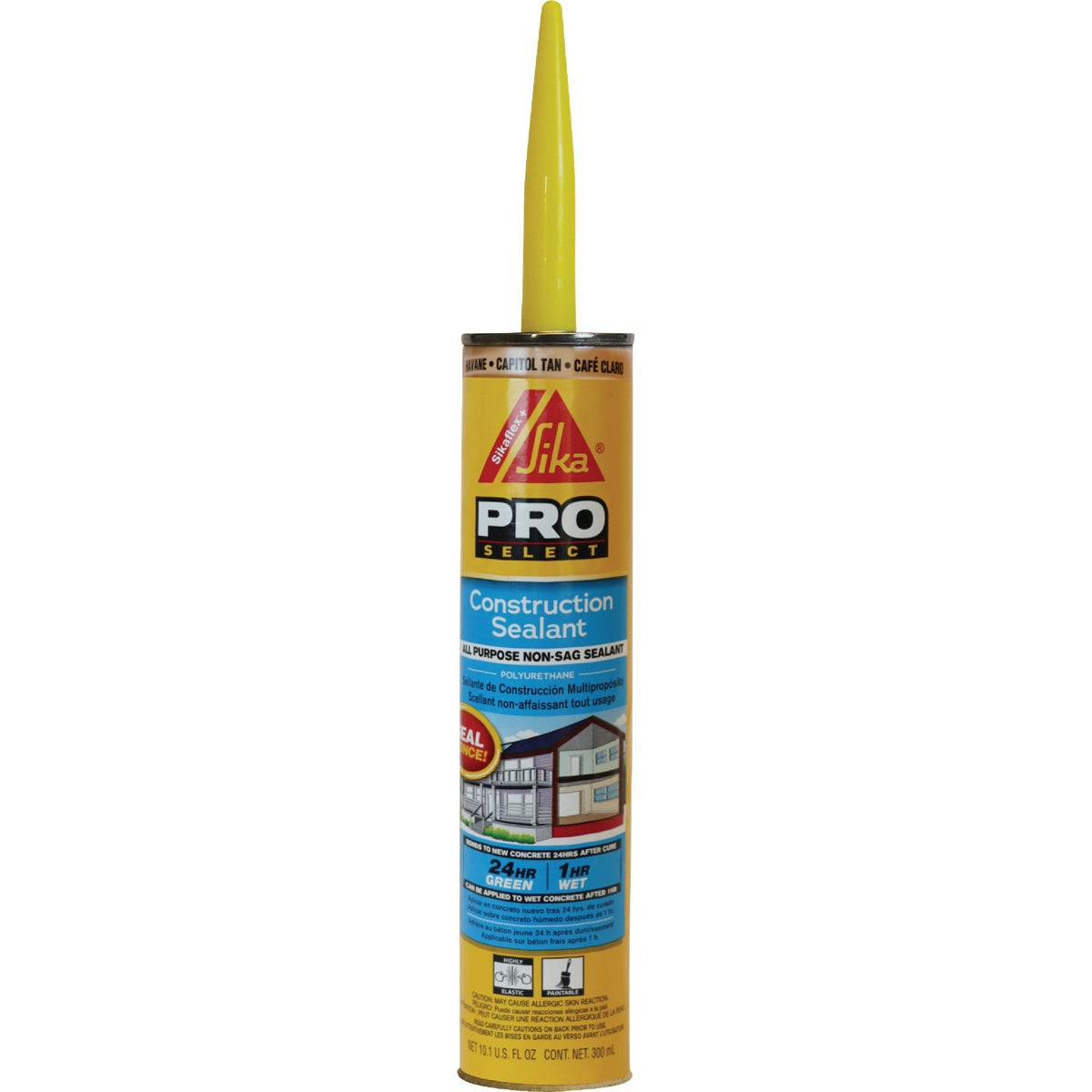 10 TAN SFLX CONS SEALANT - 107840 by Sika Corp