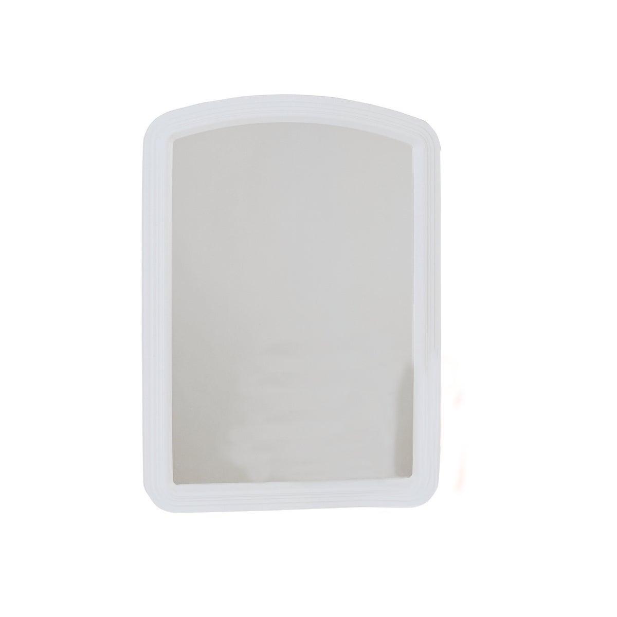16X22 WHITE ARCH MIRROR