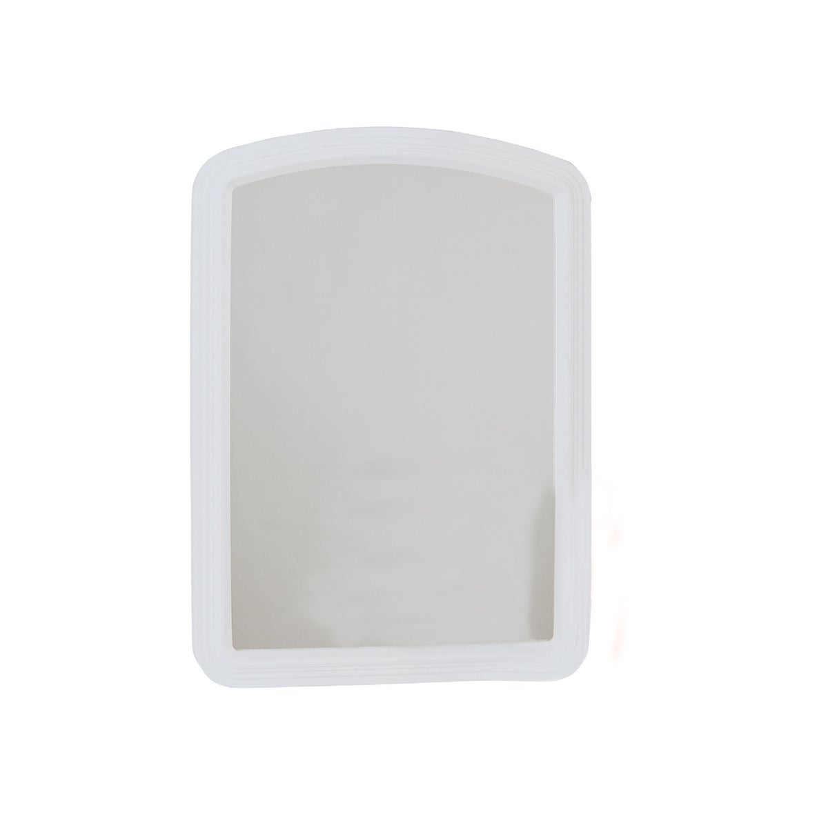 16X22 WHITE ARCH MIRROR - 20-0410 by Home Decor Innovatns
