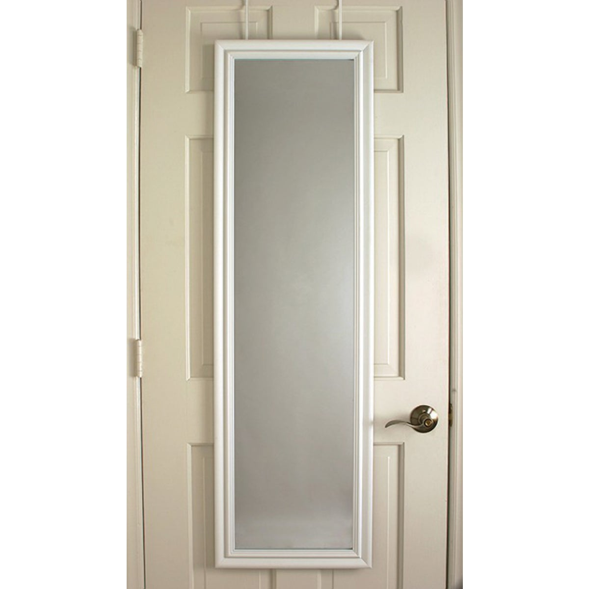 MACKENZIE WHT DR MIRROR - 20-5170 by Home Decor Innovatns
