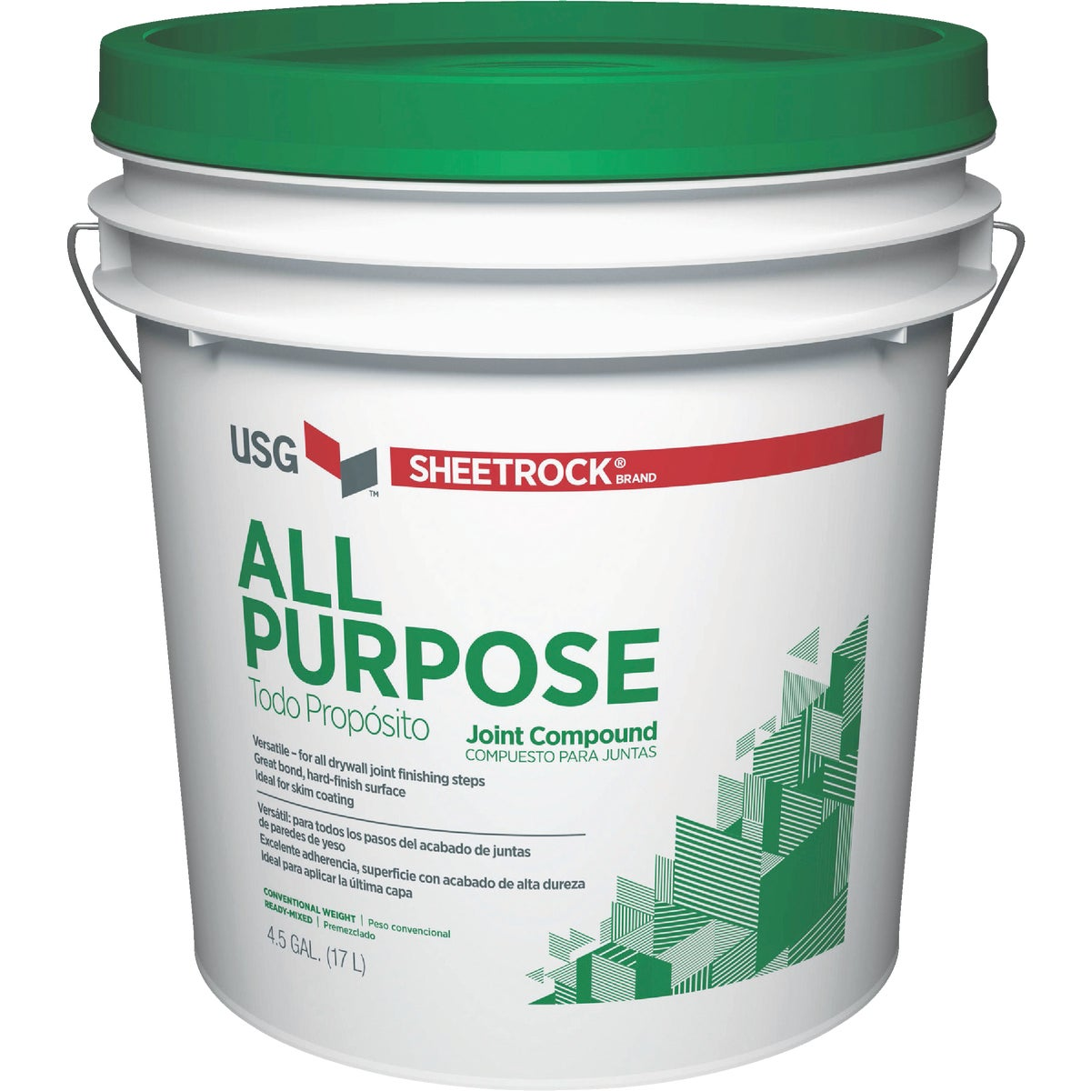 62LB PAIL JOINT COMPOUND - 380501-048 by U S Gypsum