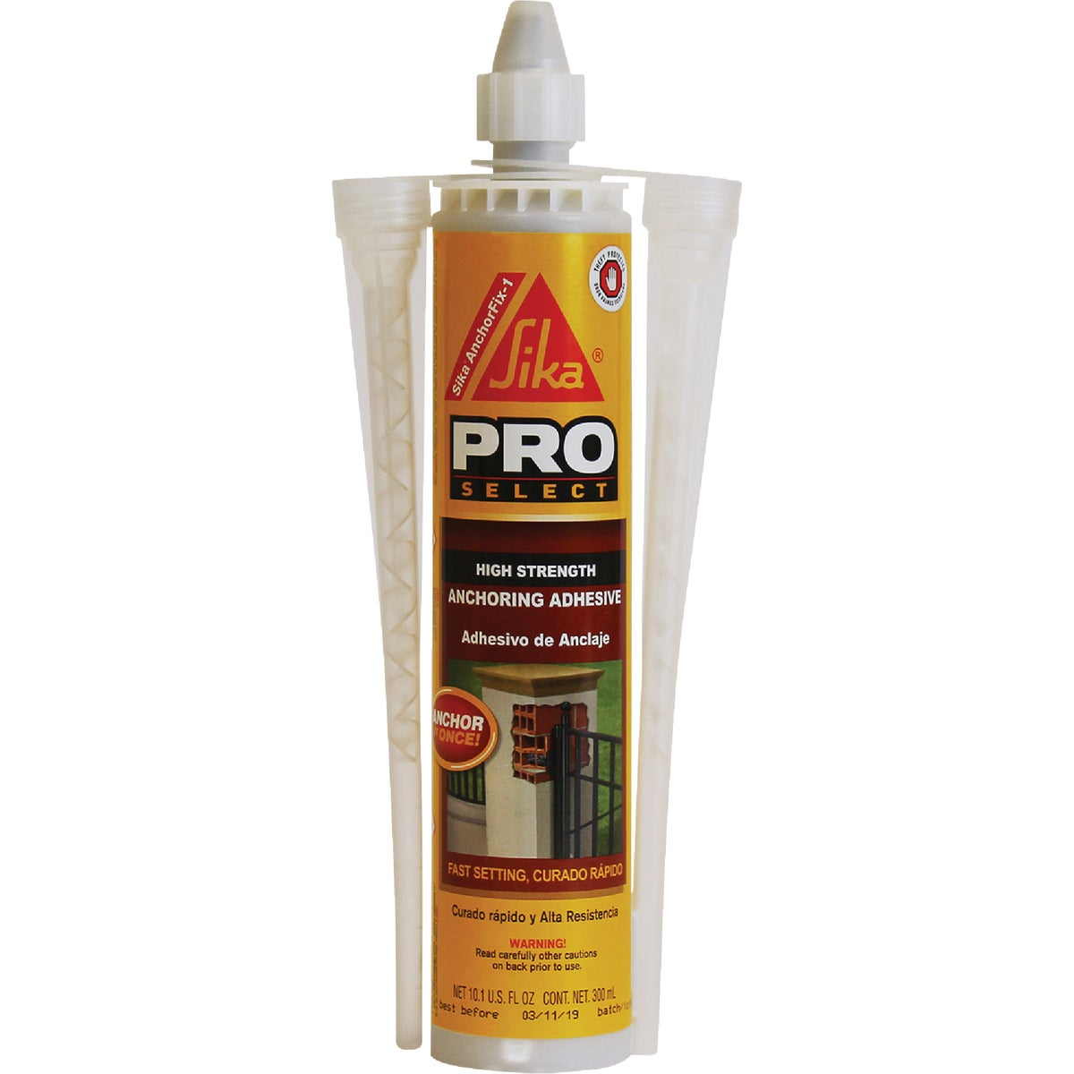 10 ANCHOR FIX 1 ADHESIVE - 112729 by Sika Corp