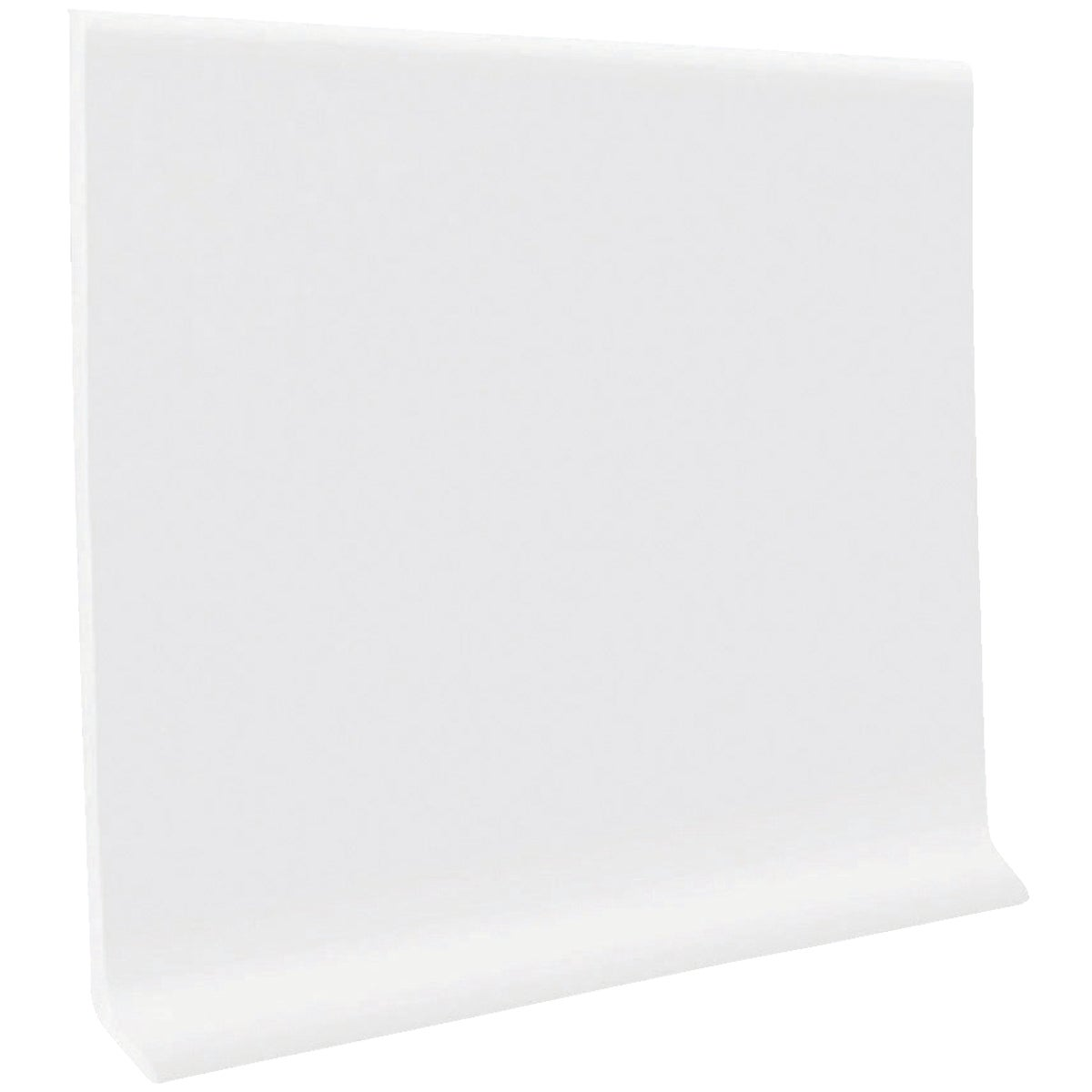 "4""X20' WHITE WALL BASE - HC40C54S161 by Roppe Corporation"