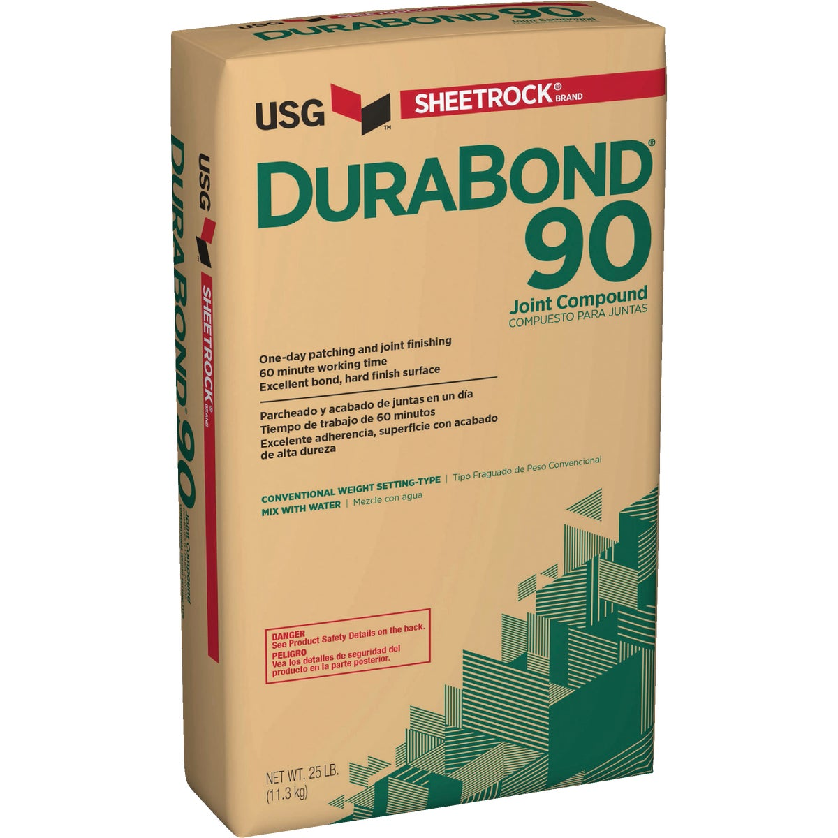 25LB DURABOND90 COMPOUND - 381630 by U S Gypsum