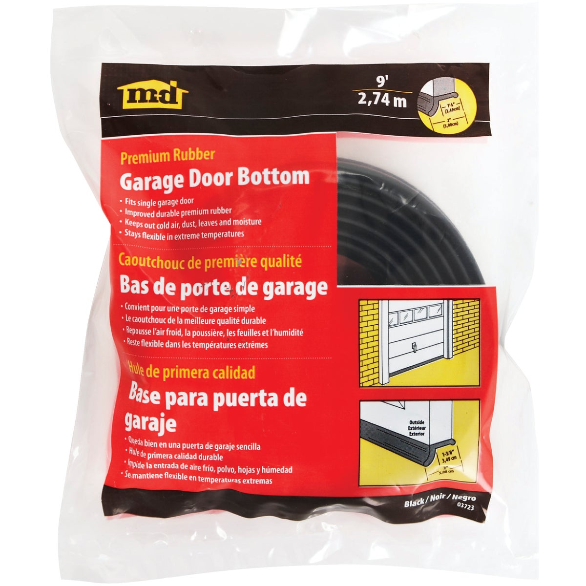 9' Garage Door Sealer