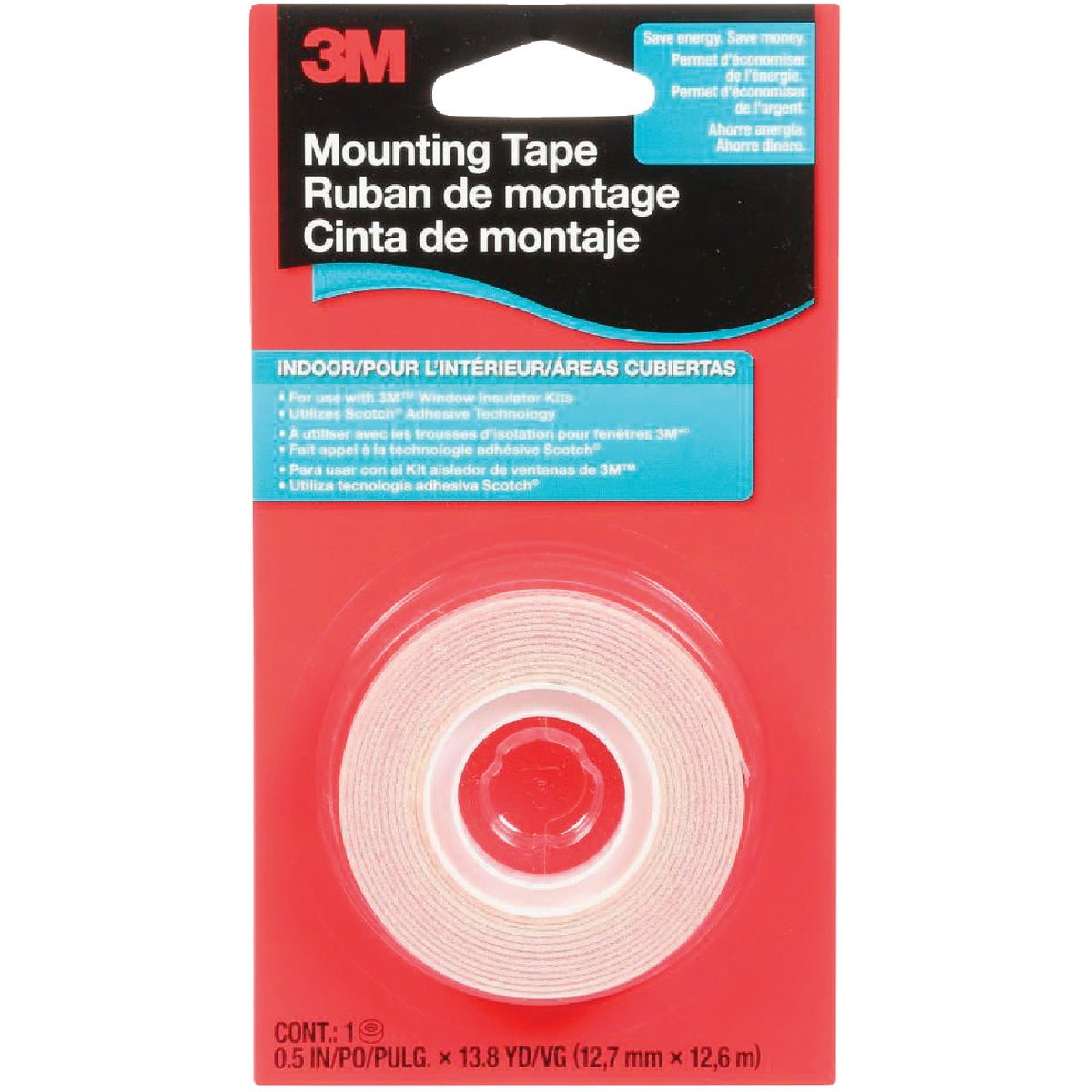 1/2X500 WINDOW FILM TAPE - 2145C by 3m Co