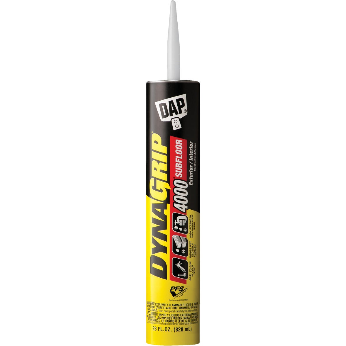 28OZ 4000 SUBFL ADHESIVE - 25117 by Dap Inc