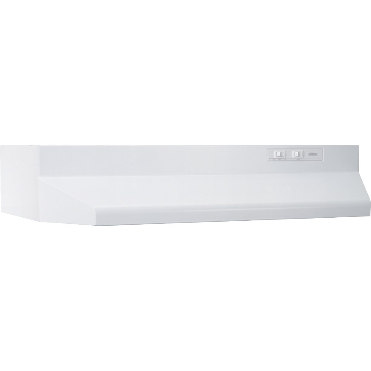 "30"" WHITE RANGE HOOD - 403001 by Broan Nutone"