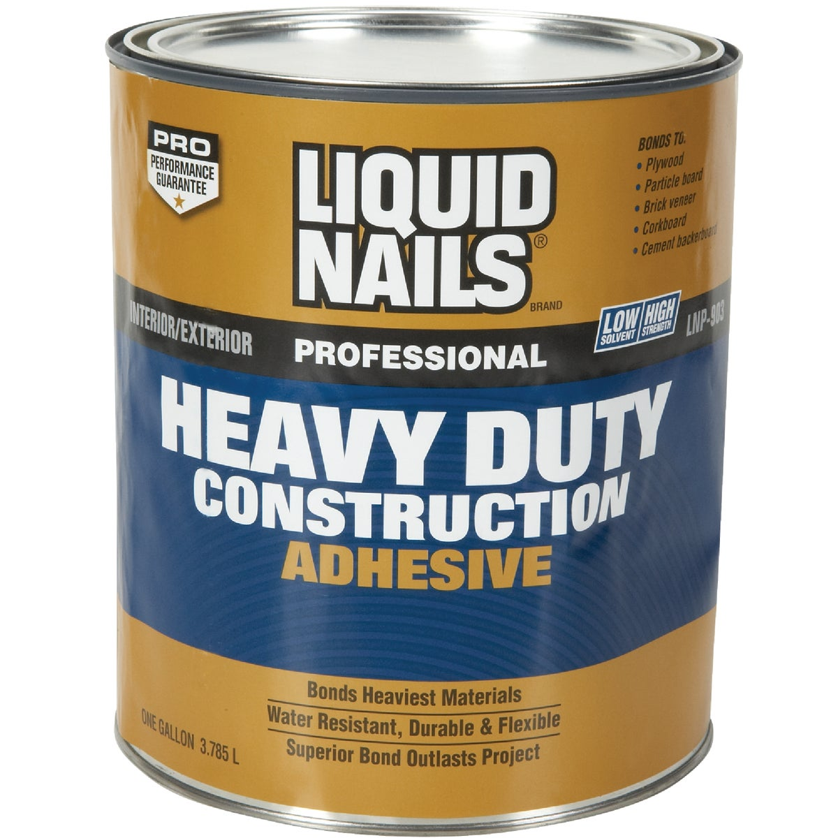 GAL H/D CONST ADHESIVE - LNP903 by Liquid Nails/akzonob