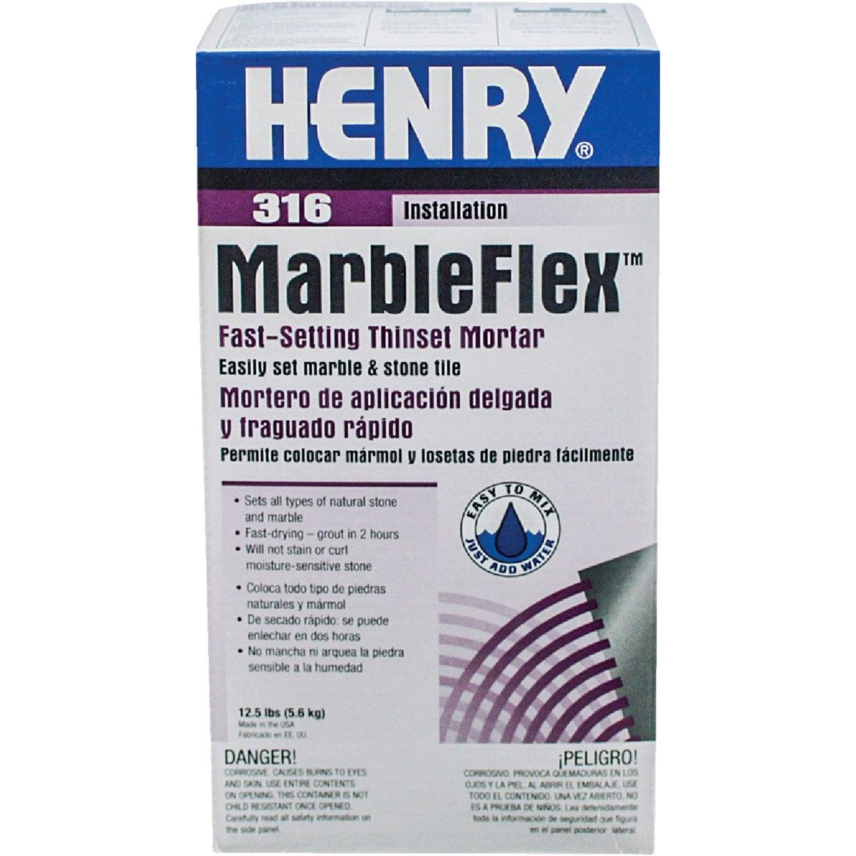 12.5LB MARBLEFLEX MORTAR - 12035 by Henry W W Company