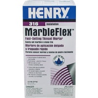 HENRY MarbleFlex Fast Setting Thinset Mortar Mix, 12035