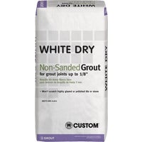 Custom Building Prod. 25LB WHITE TILE GROUT WDG25