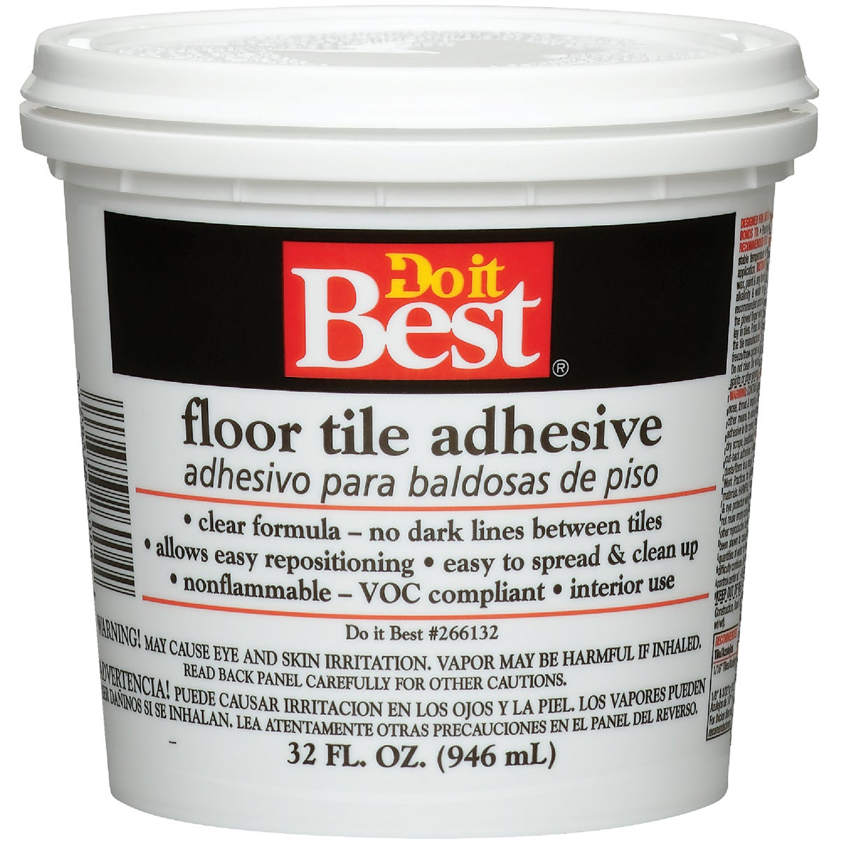 QT FLOOR TILE ADHESIVE - 26004 by Dap Inc