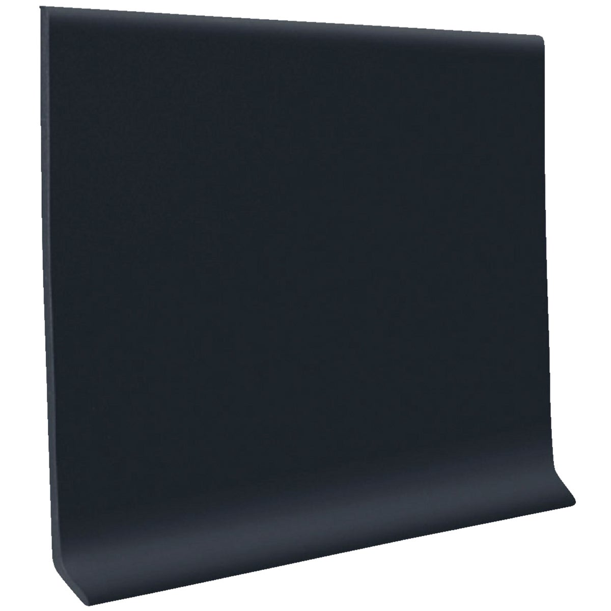 "2-1/2""X4' BLK WALL BASE - H1625C51P100 by Roppe Corporation"