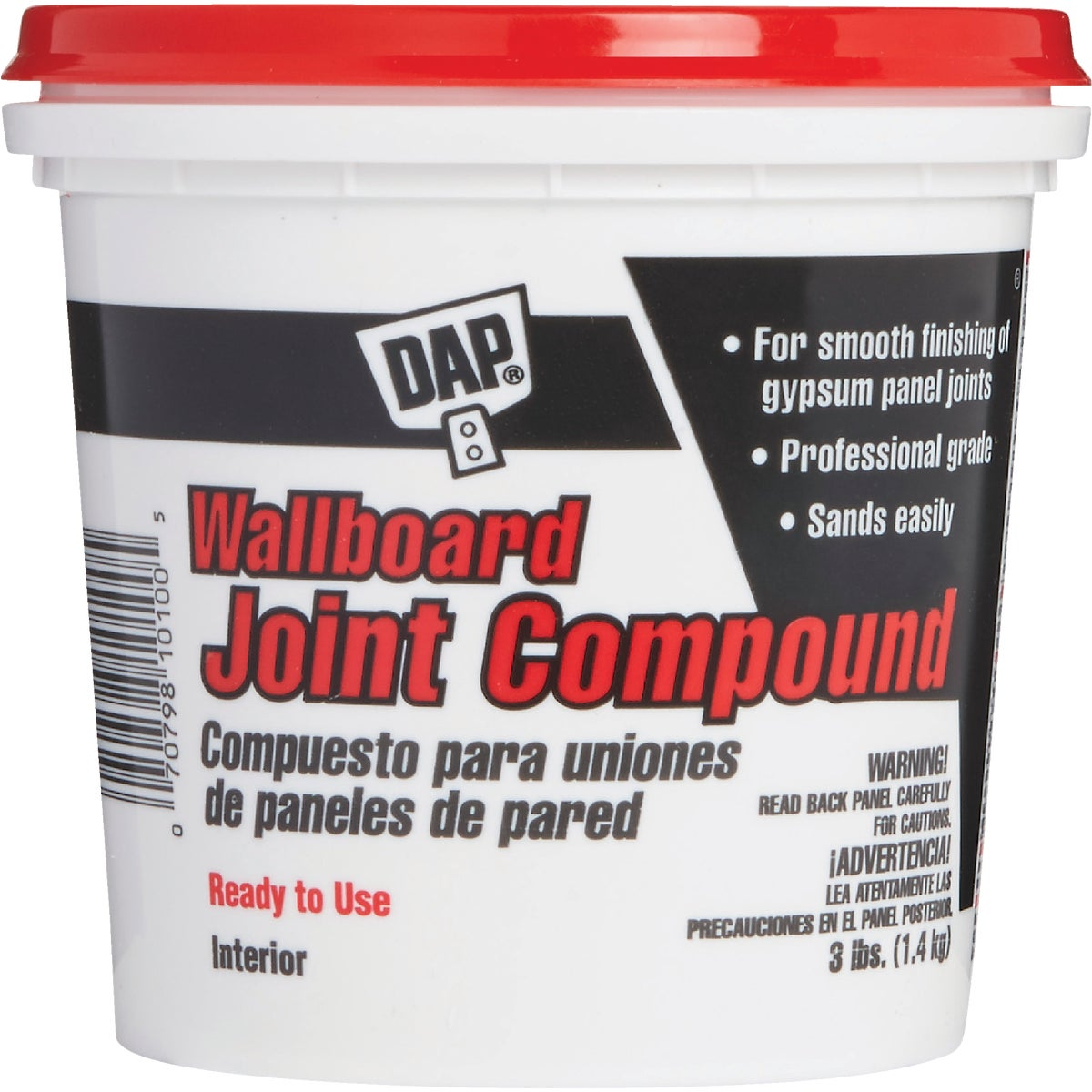3LB RDMIX JOINT COMPOUND - 10100 by Dap Inc
