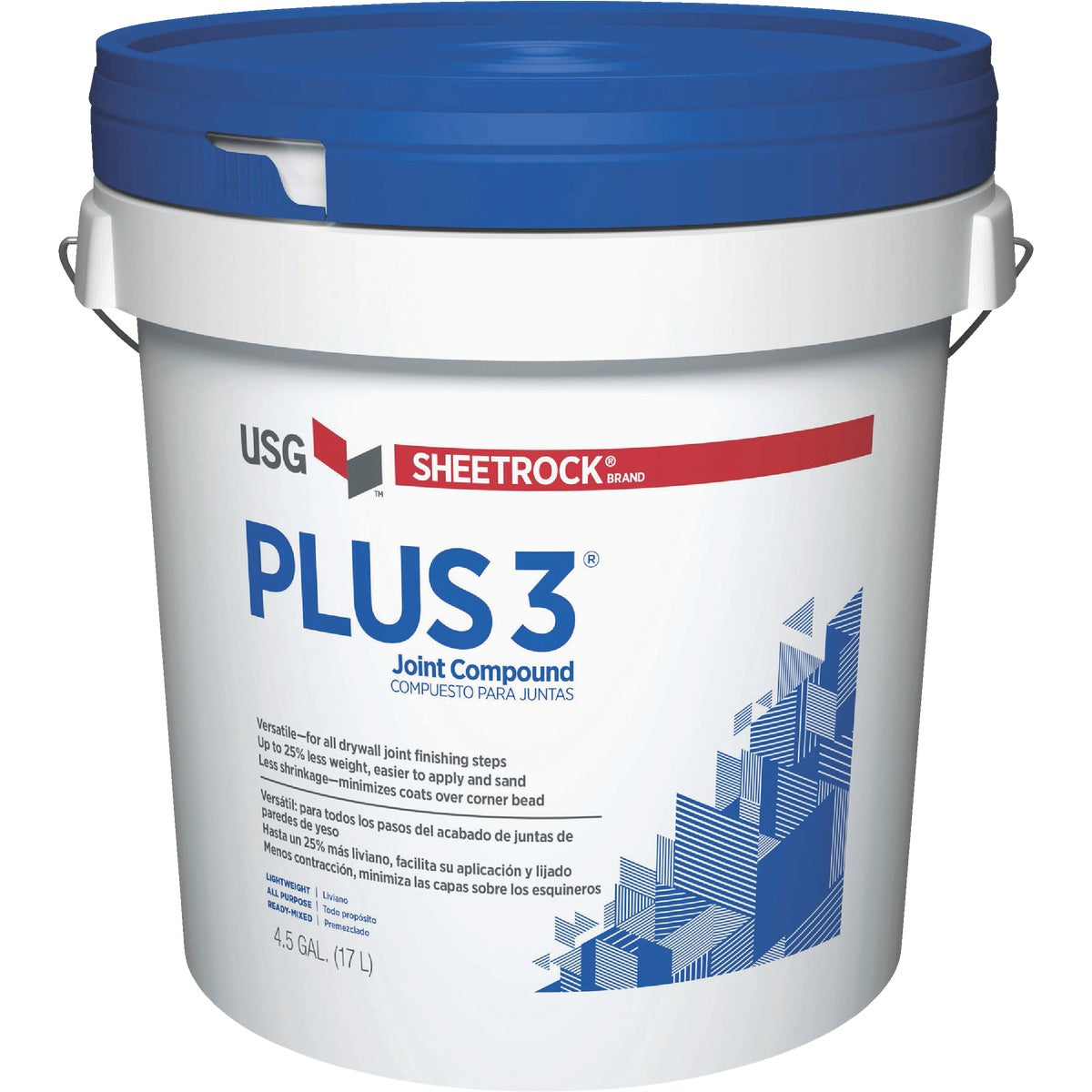 4.5GL PAIL PLS3 COMPOUND - 381466-048 by U S Gypsum