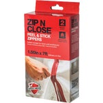 Zip N Close Peel and Stick Wall Zipper