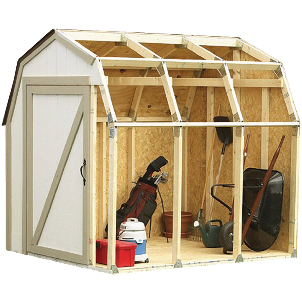 BARN STYLE SHED KIT - 90190MI by Hopkins Mfg Corp