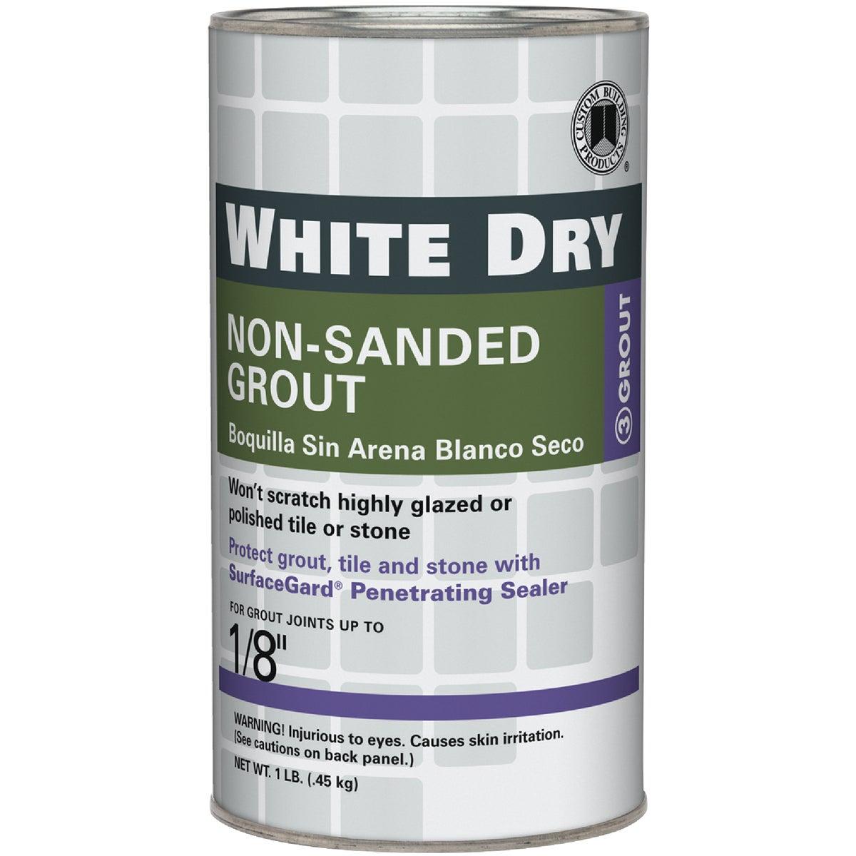 1LB WHITE TILE GROUT