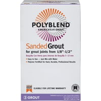 Custom Building Products Polyblend Sanded Tile Grout, PBG097-4