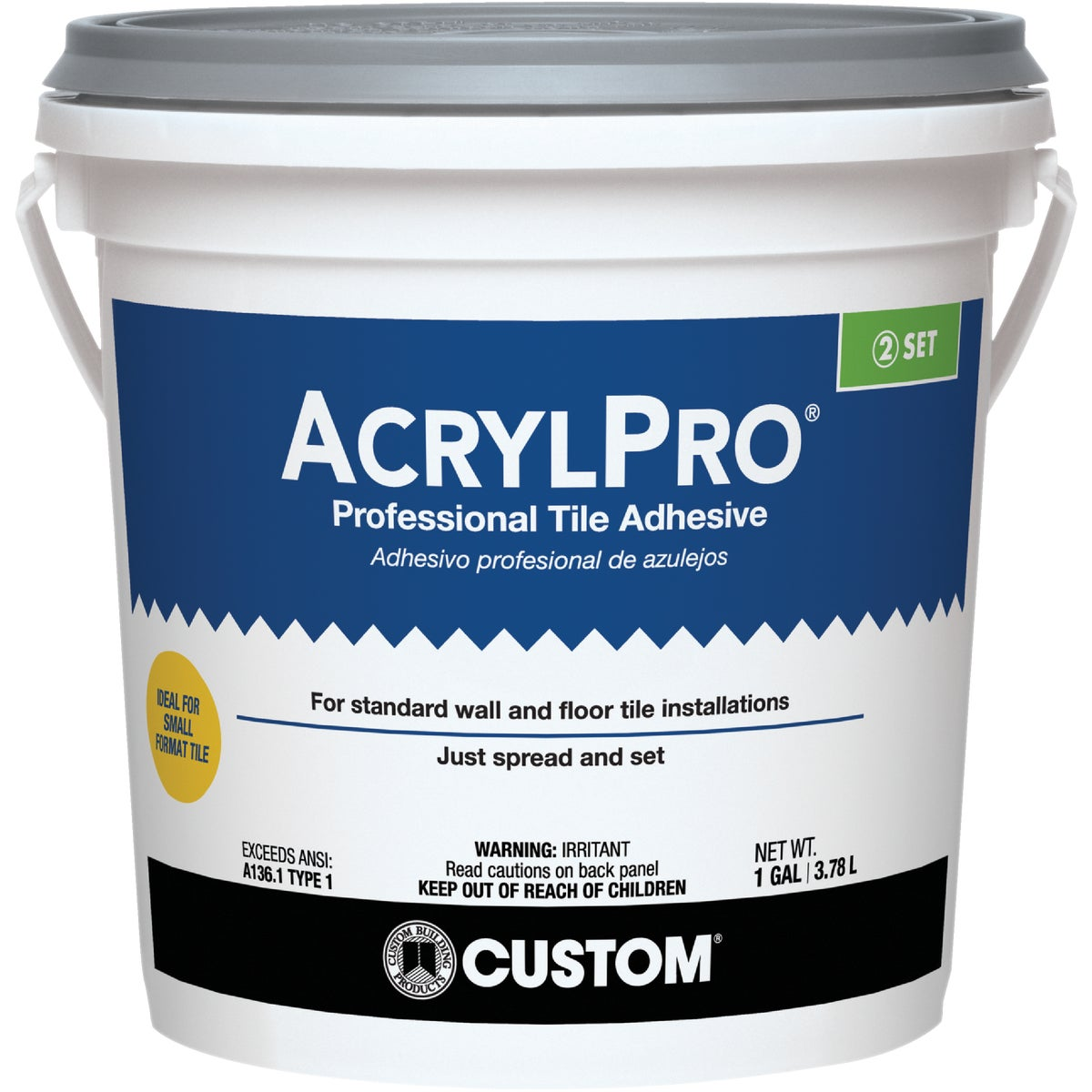 GAL PL CRMC TILE MASTIC - ARL40001-2 by Custom Building Prod