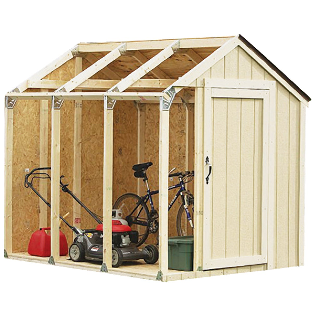 Storage Shed Building Kit