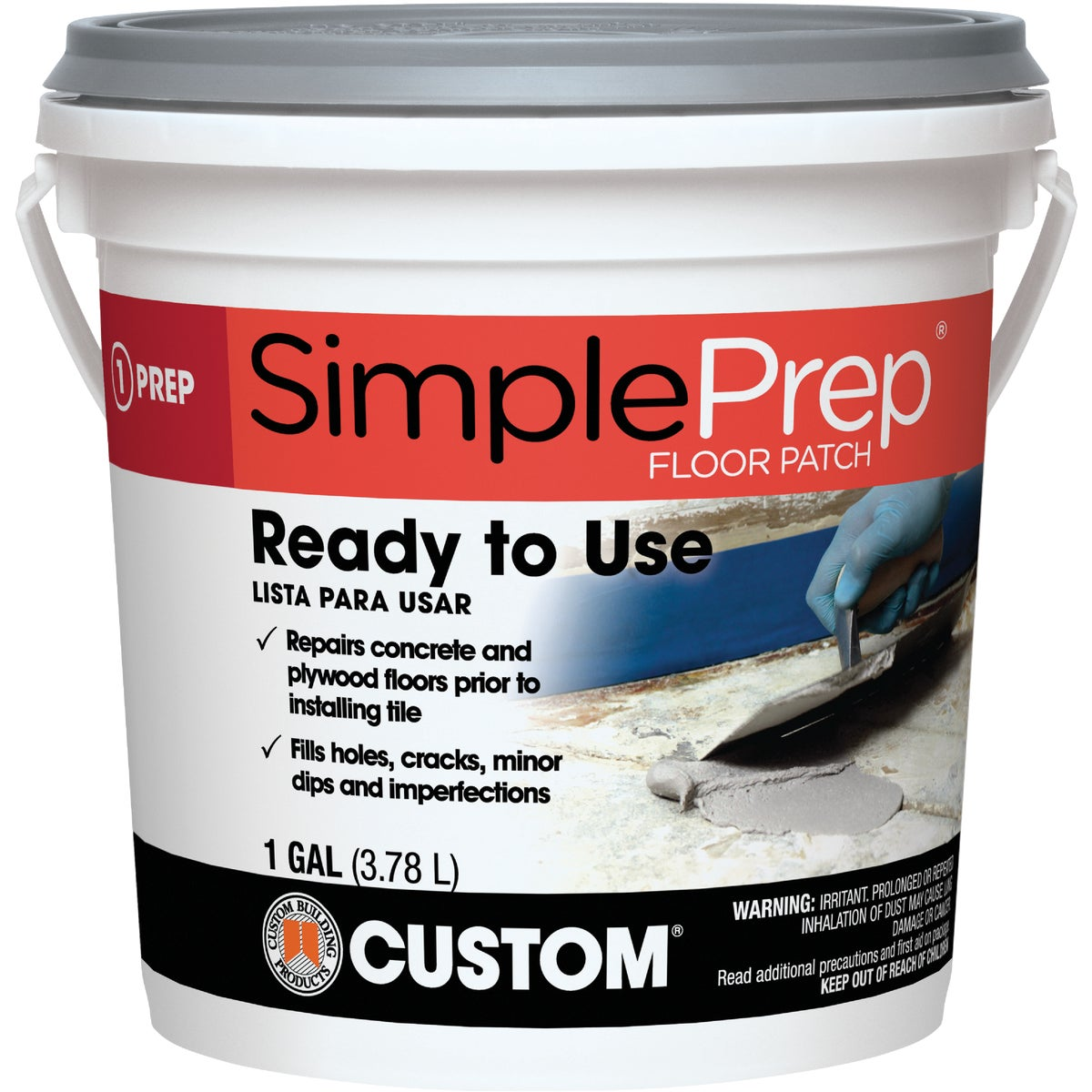 GL PREMIXED FLOOR PATCH - FP1-2 by Custom Building Prod