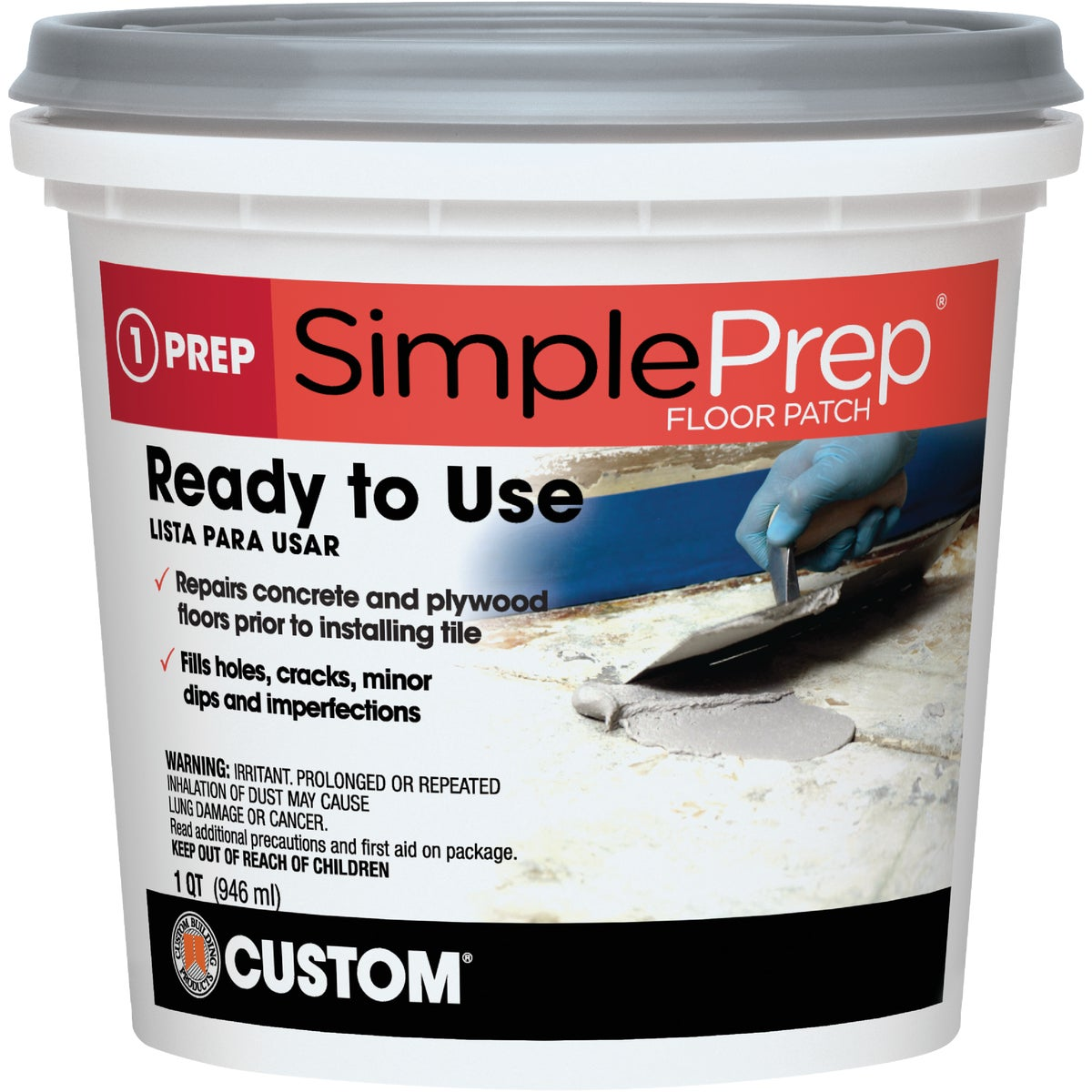 QT PREMIXED FLOOR PATCH - FPQT by Custom Building Prod