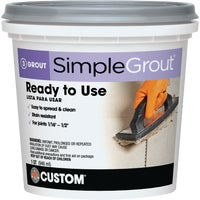 Custom Building Products Simplegrout Tile Grout, PMG105QT