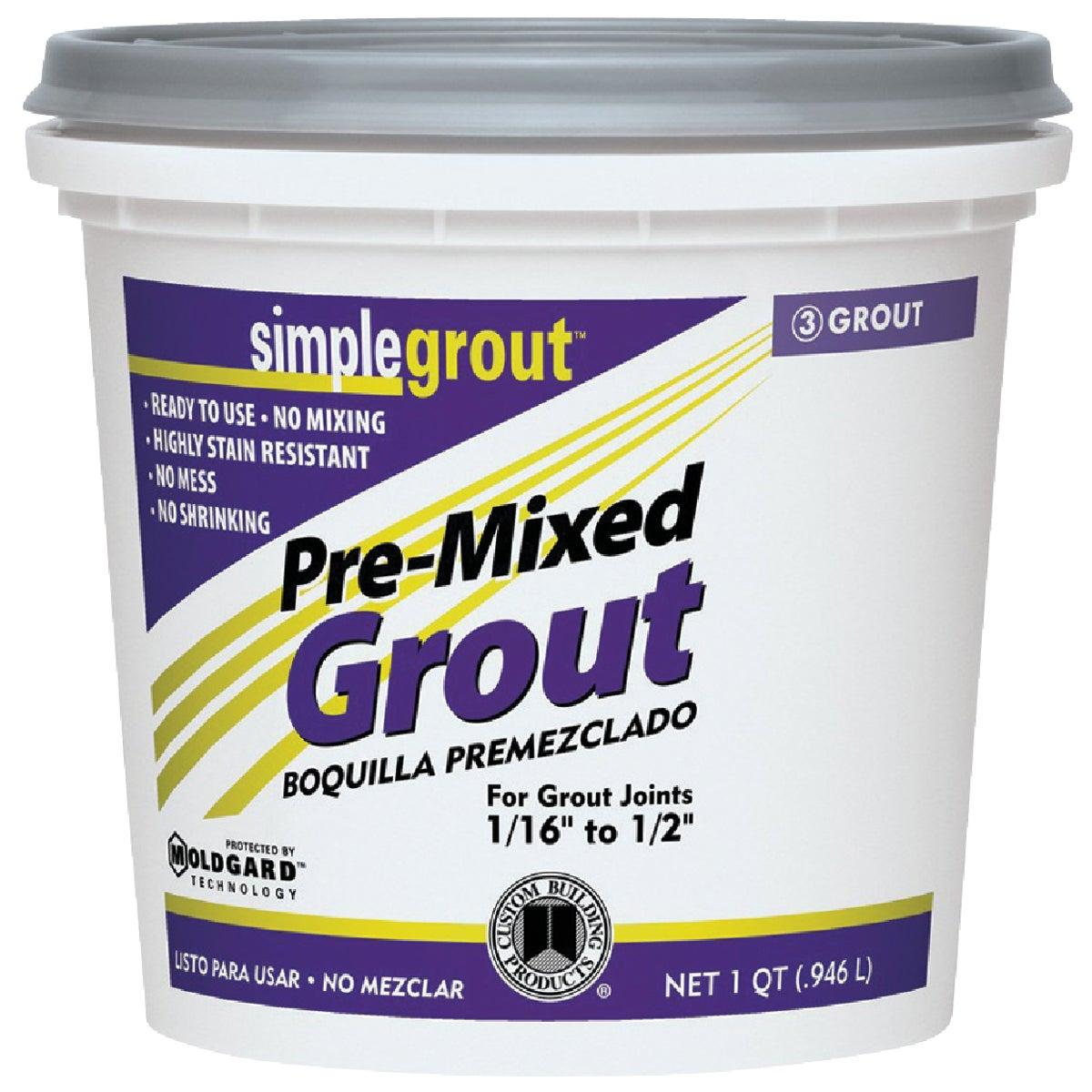 QT SNDSTONE PREMIX GROUT - PMG180QT by Custom Building Prod