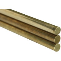 K & S Engineering 5/16X36 SOLID BRASS ROD 1166