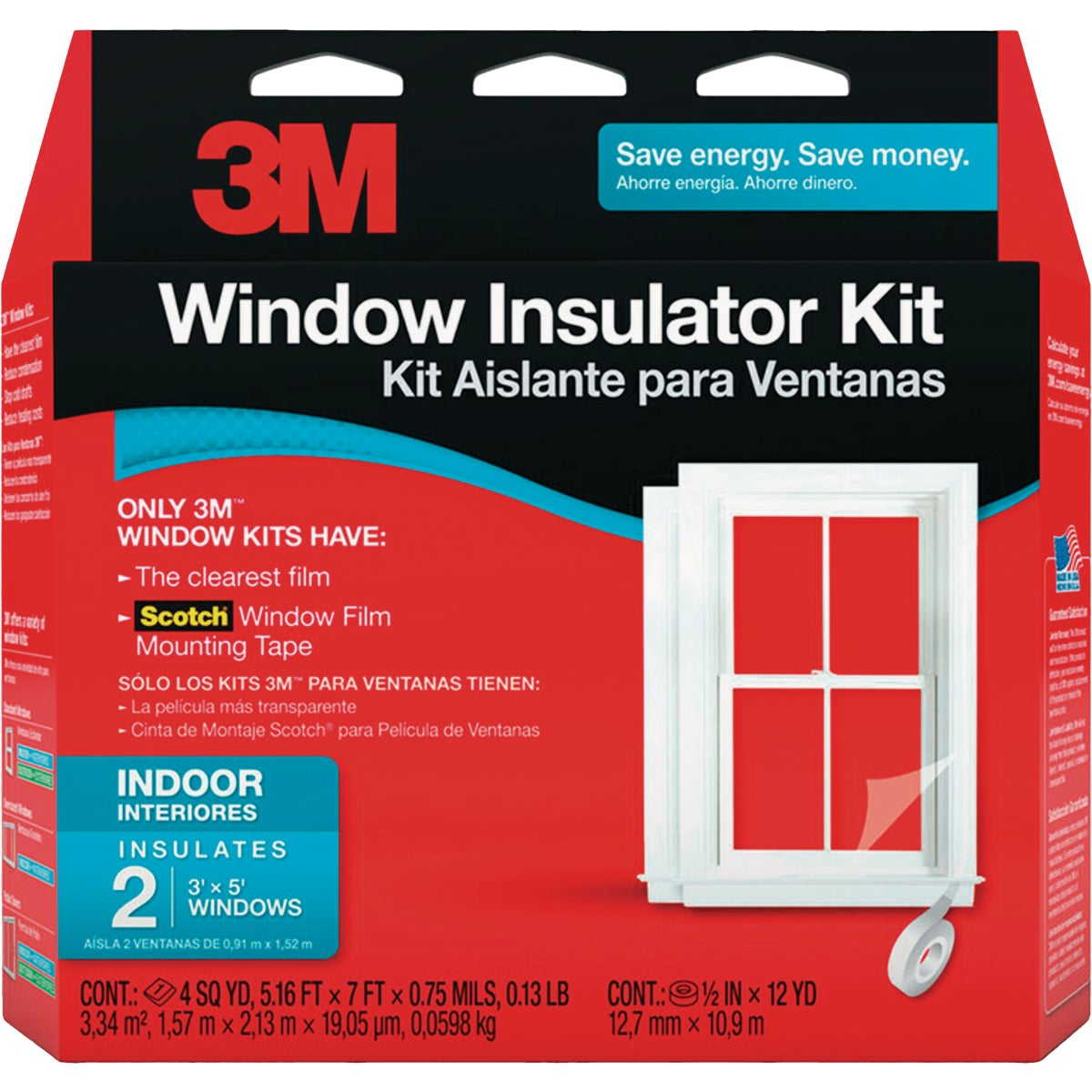 2PK 42X62 WNDW INSUL KIT - 2120W-6 by 3m Co